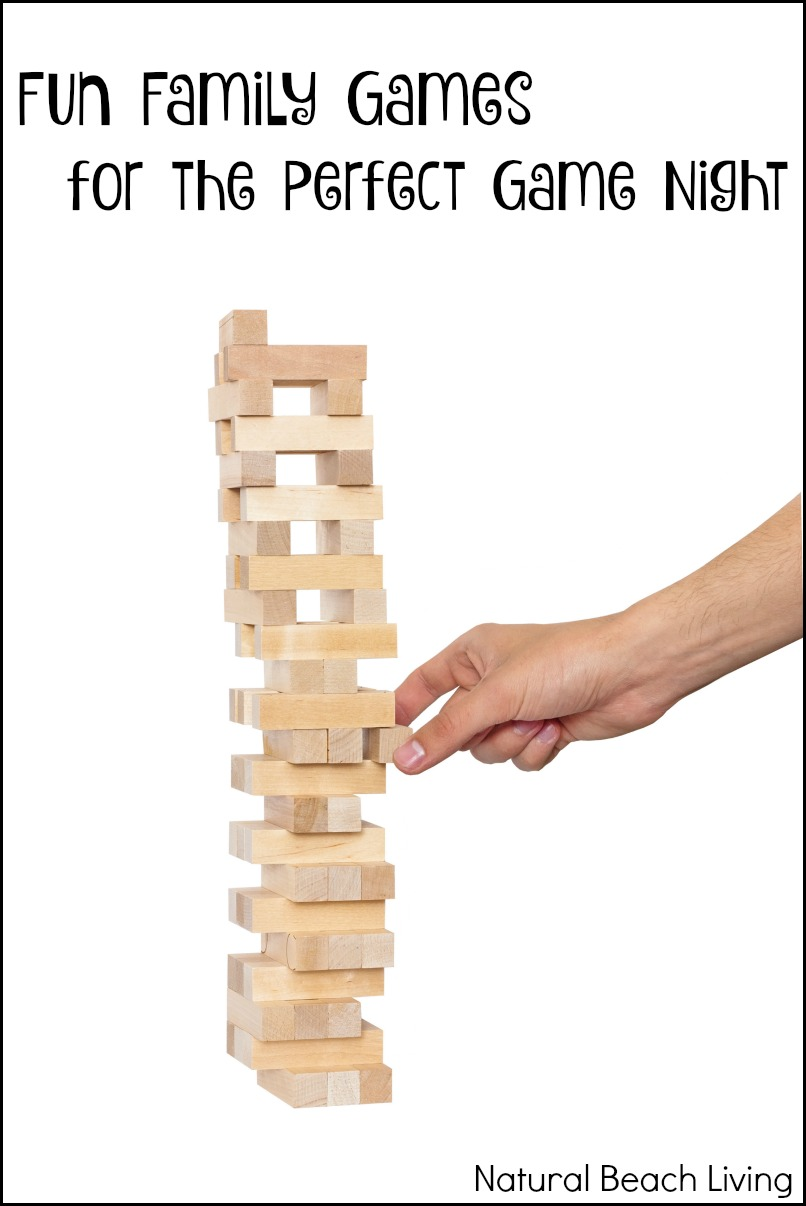 Fun Family Games for the Perfect Game Night