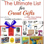 Ultimate List for Great Gifts (Linky 46)