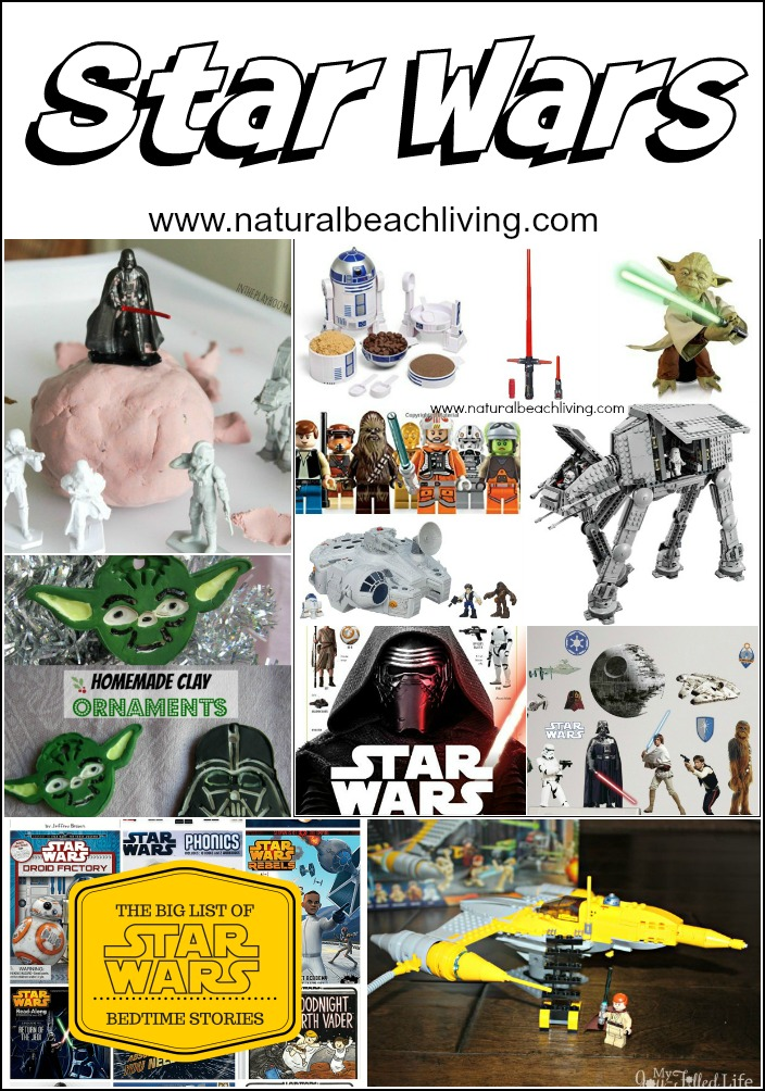 Awesome Star Wars Family Activities, Gifts, Books, Crafts, Sensory Play, Healthy Star Wars Fruit Snacks and So Much More.