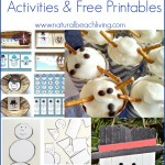 Snowman Activities and Free Printables
