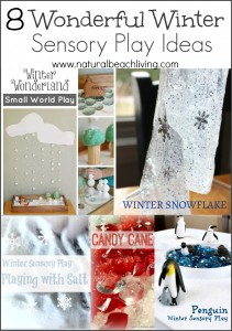 8 Wonderful Winter Sensory Play Ideas