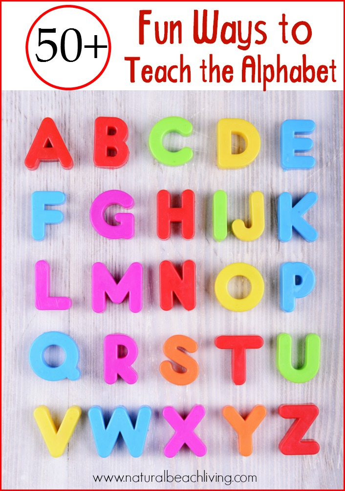 teach the alphabet