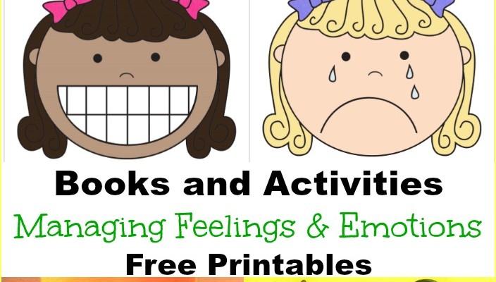 Managing Feelings and Emotions Free Printables