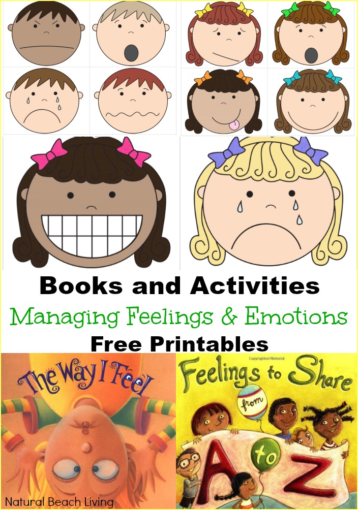 Daily visual schedule for kids free printable natural for Emotion art projects