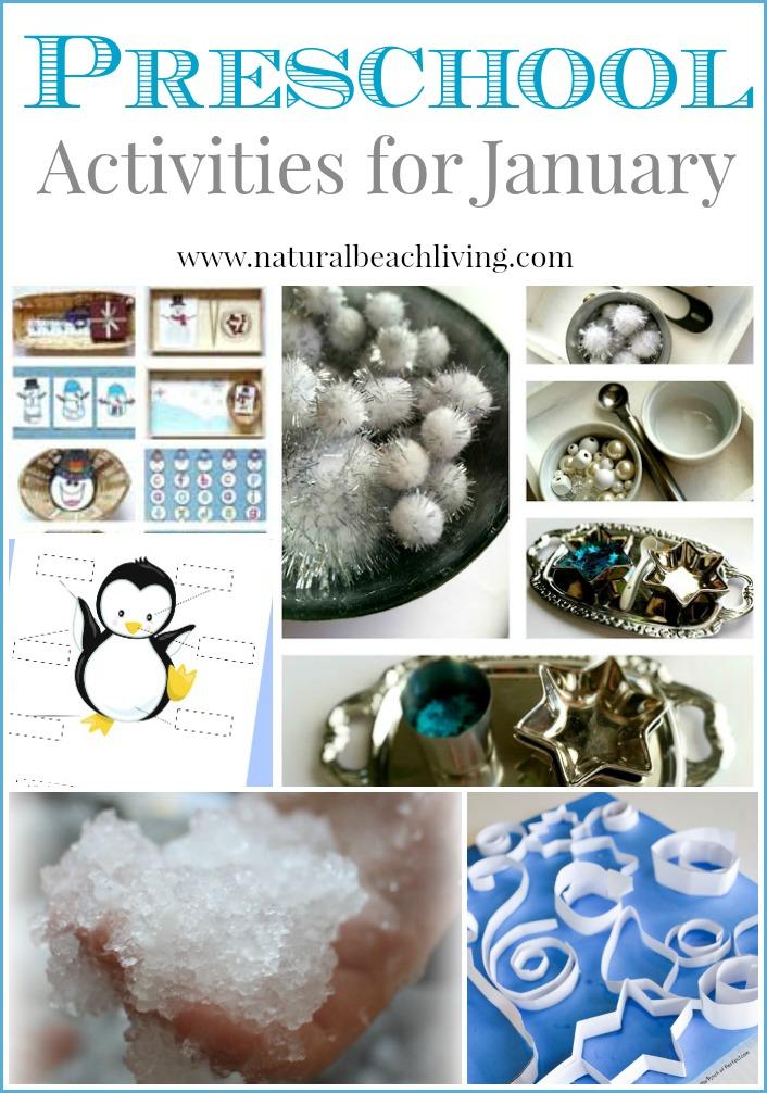 preschool activities for January