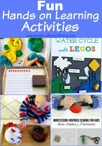 Hands on Learning Activities with Kids (Linky 54)