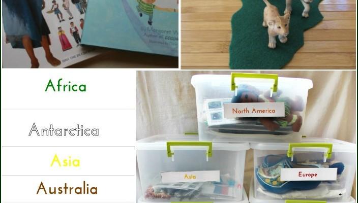 Easy Ways to Teach Montessori Culture (Free Printables)