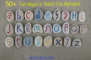 50+ Fun Ways to Teach the Alphabet