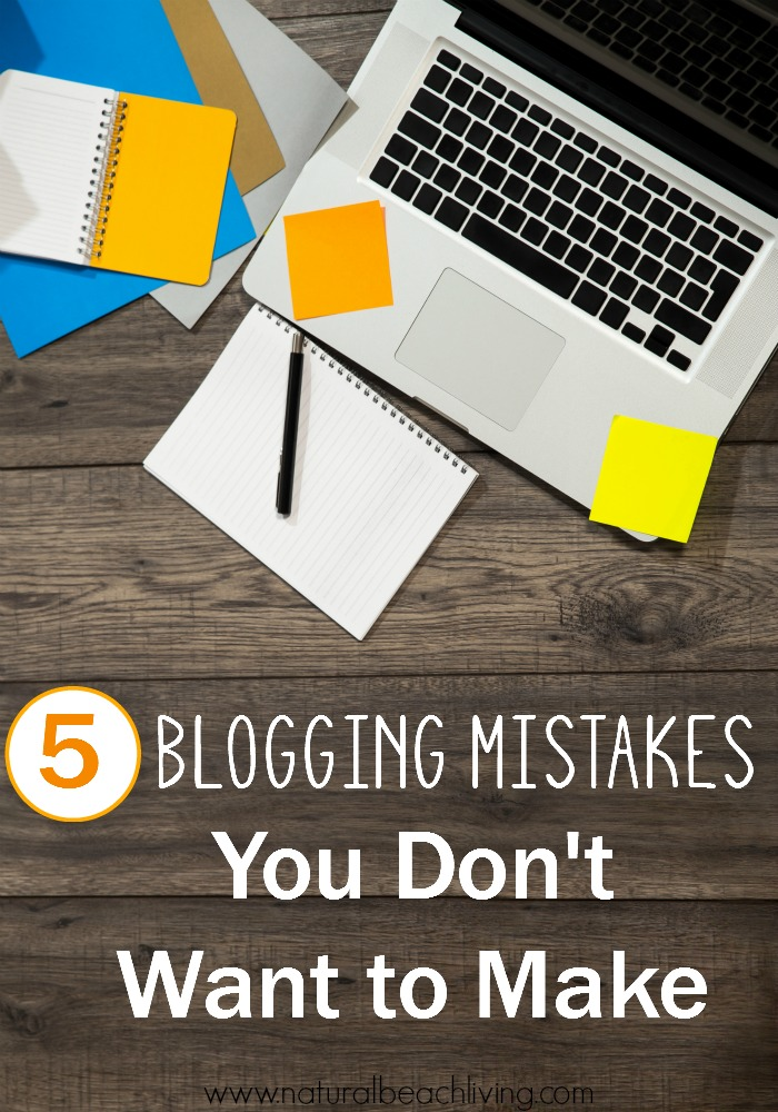 5 Blogging Mistakes You Don't Want to Make