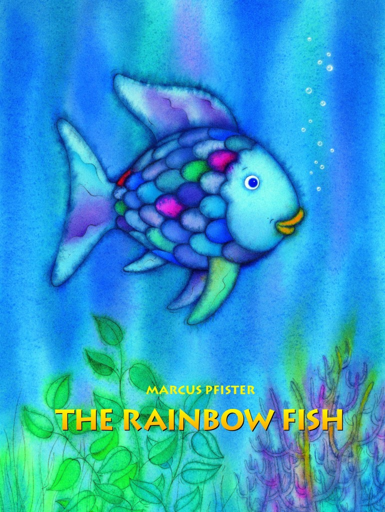 10 awesome books about rainbows natural beach living for Rainbow fish author