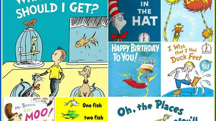 The Best Dr. Seuss Books & Free Printable Bookmarks