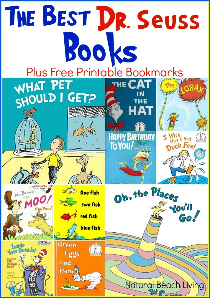Celebrate Dr. Seuss with great ideas and Great Books, Plus Free Printables. These are The Best Dr. Seuss Books Ever!