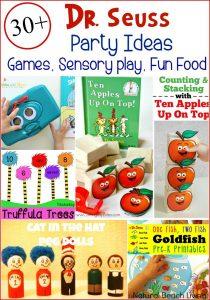 30+ Amazing Dr. Seuss Party Ideas for Kids