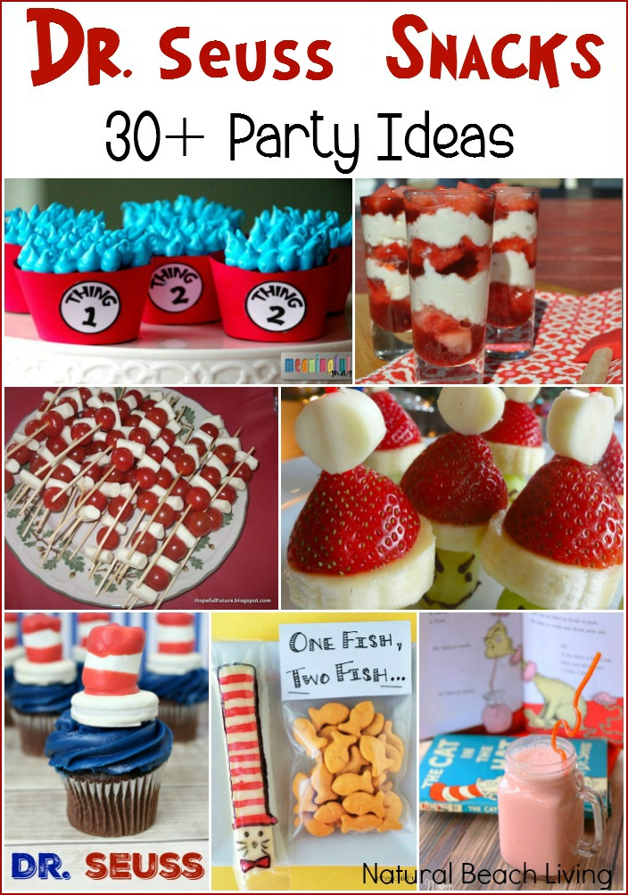 30 Amazing Dr Seuss Party Ideas for Kids Natural Beach Living