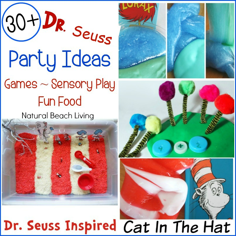 Cat In The Hat Party Food Ideas