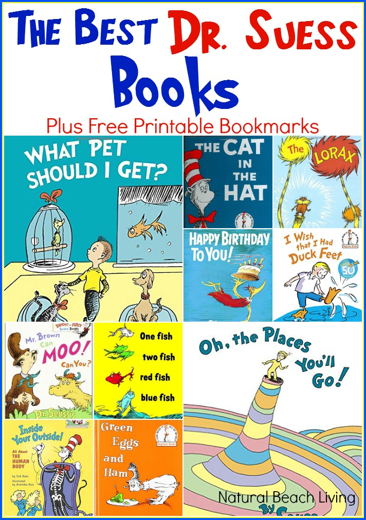 Celebrate Dr. Suess with great ideas and Great Books, Plus Free Printables. These are The Best Dr. Suess Books Ever!