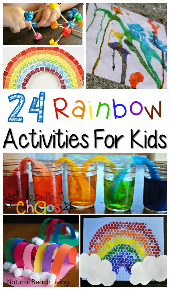 24+ Rainbow Activities for Kids
