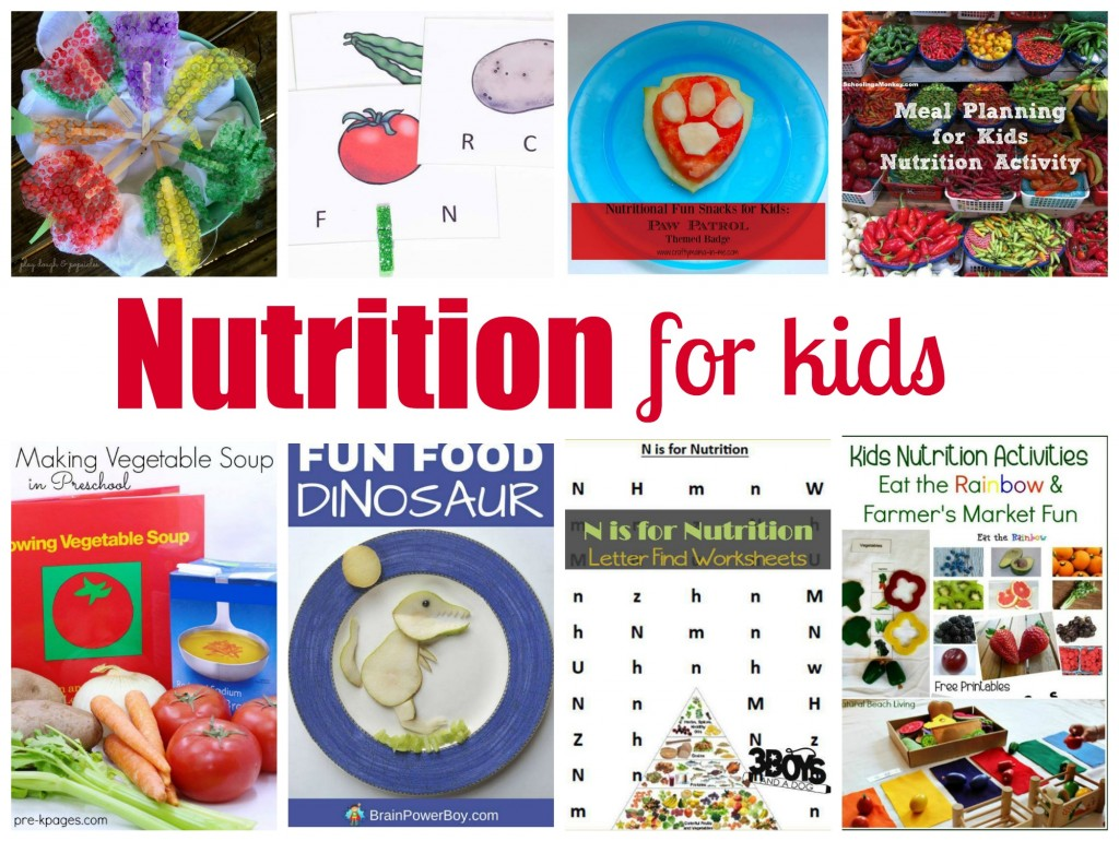 Teaching Kids to Eat Healthy with Fun Hands on Nutrition Activities, Free Healthy Foods Printables Pack and a Fun Farmer's Market Scavenger Hunt