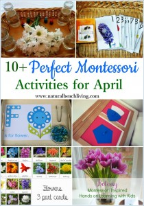 10+ Perfect Montessori April Preschool Activities