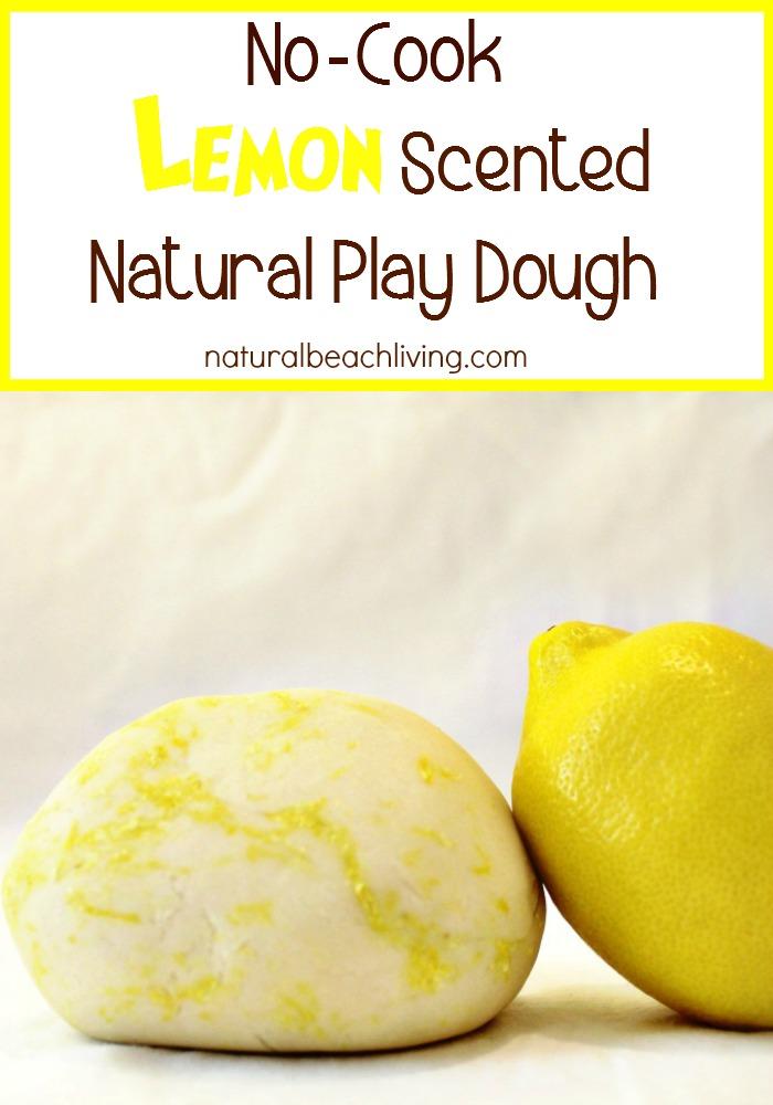lemon play dough