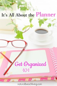 All About the Planner ~ Get Organized 101 (Linky 62)