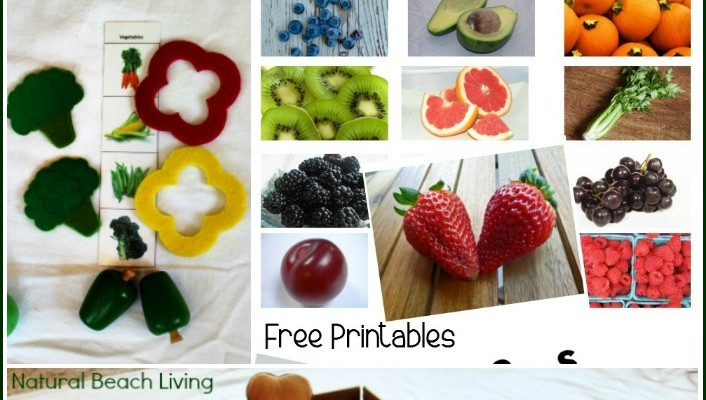 Kids Nutrition Activities & Farmer's Market Fun {Free Printables}