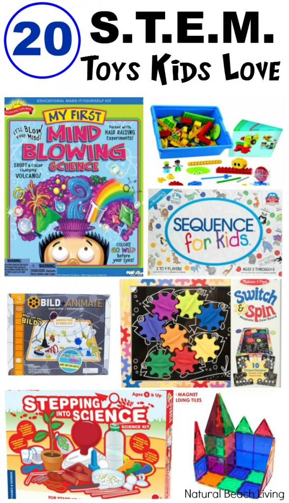 20 STEM Toys Kids Love to play with, Educational learning and wonderful Hands on Learning, Science, Technology, Engineering, Math for Kids