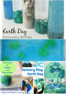 earth day sensory play