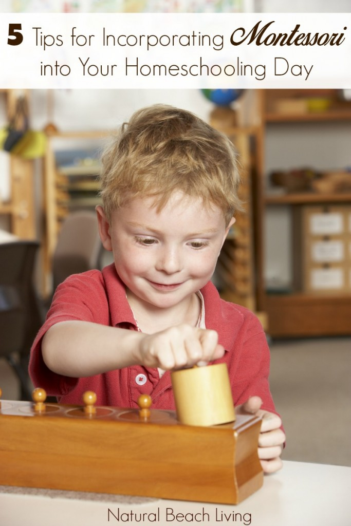 5 Tips for Incorporating Montessori into Your Homeschooling Day, Practical life ideas and building self esteem, finding a homeschooling rhythm
