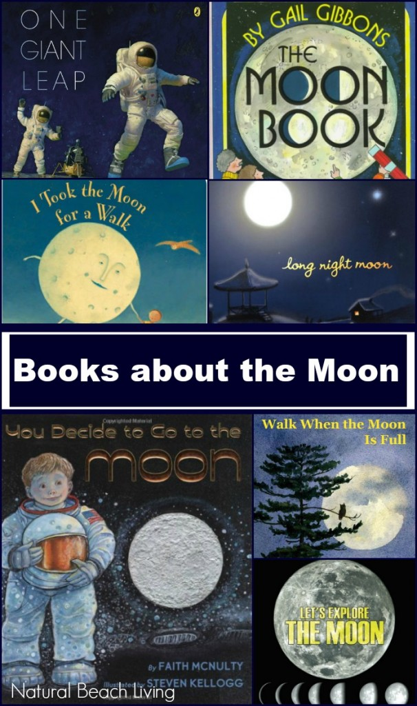 Moon Books Fiction and Non-fiction moon books for kids