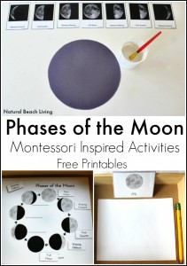Moon Activities – Montessori Inspired Astronomy (Free Printables)
