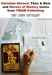 C.S. Lewis Unit Study from YWAM Publishing  (review)