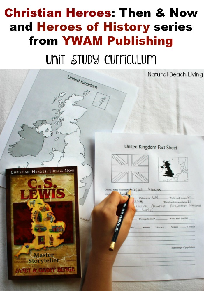 C.S Lewis Unit Study from YWAM Publishing (review)
