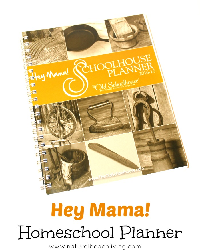 Hey Mama! Schoolhouse Planner for 2016 is Awesome! Homeschool planning with tips, planning sheets,and plenty of other helpful tools for your school year.