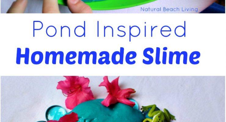 Pond Inspired Homemade Slime