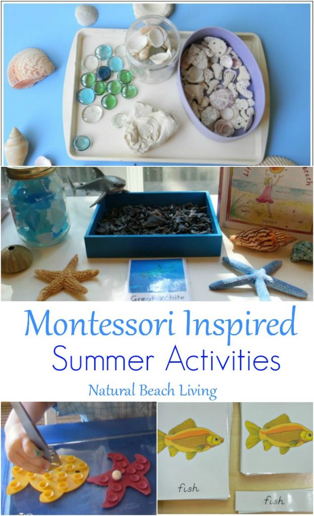 Montessori summer activities for June
