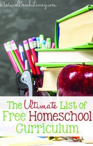The Ultimate List of Free Homeschool Curriculum