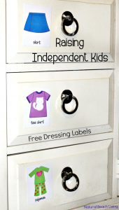 Raising Independent Kids – Practical Life Skills (Printables)