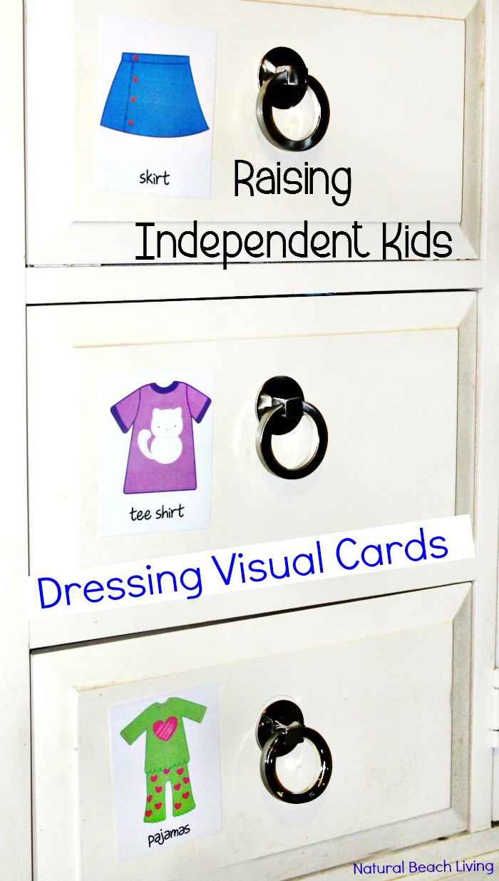 Raise Independent Kids with Practical Life Skills, Natural Learning, Teaching Responsibility, Respectful parenting, Teaching Self Care, Dressing Visual Schedules Cards, Montessori practical life, Parenting, Daily Visual Cards, Dressing Labels for toddlers and preschoolers