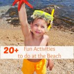 20+ Fun Activities to do at the Beach