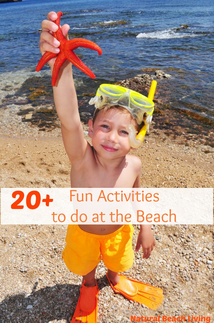 20 fun activities to do at the beach   natural beach living
