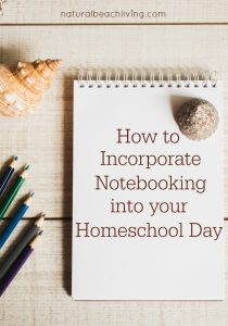 How to Incorporate Notebooking into your Homeschool Day