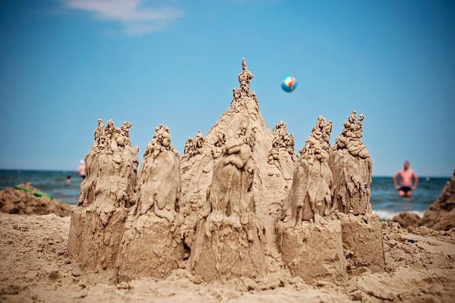 sand castle beach activities