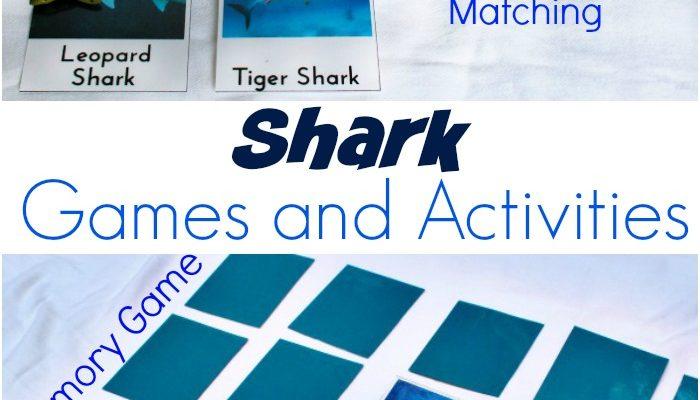 Shark Activities for Kids (Free Printables)