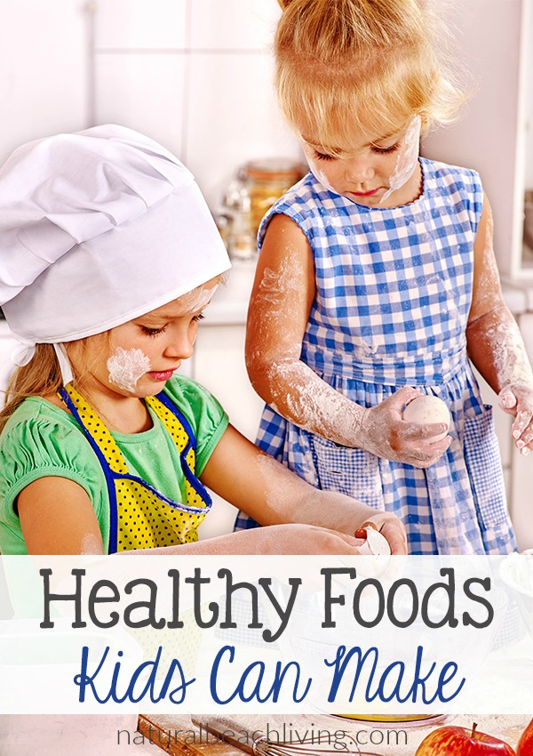 Fun and Delicious Healthy Foods Kids Can Make, Kids in the Kitchen, snacks, kids lunches, After School Snack Ideas, Practical Life skills for kids and more.