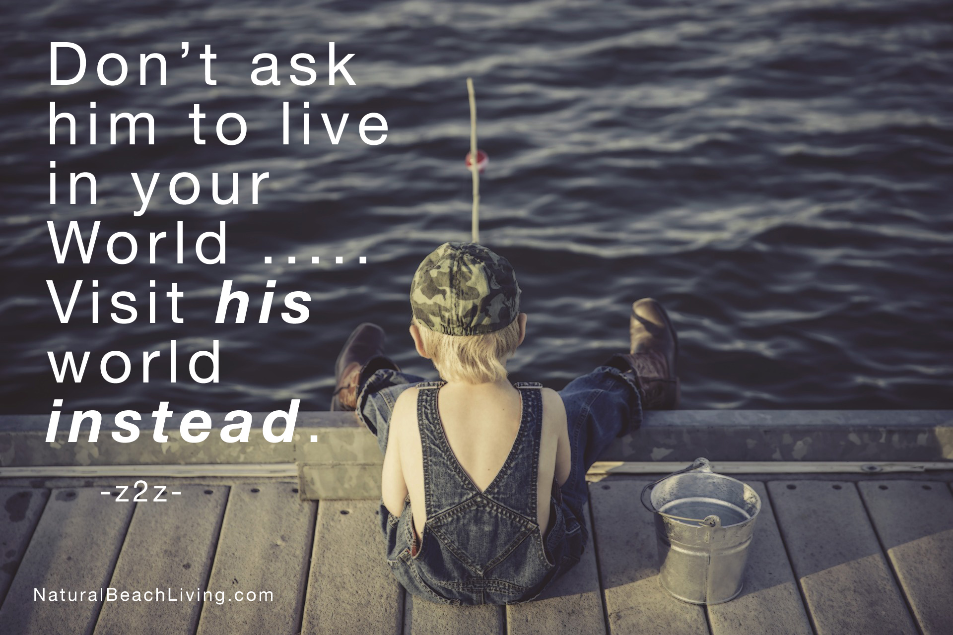 live and teach in his world