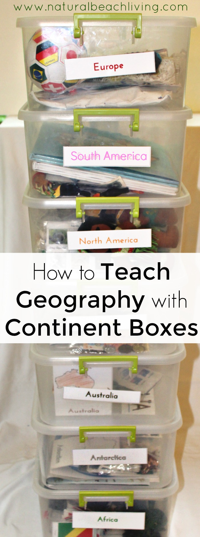 How to Teach Geography with Continent Boxes