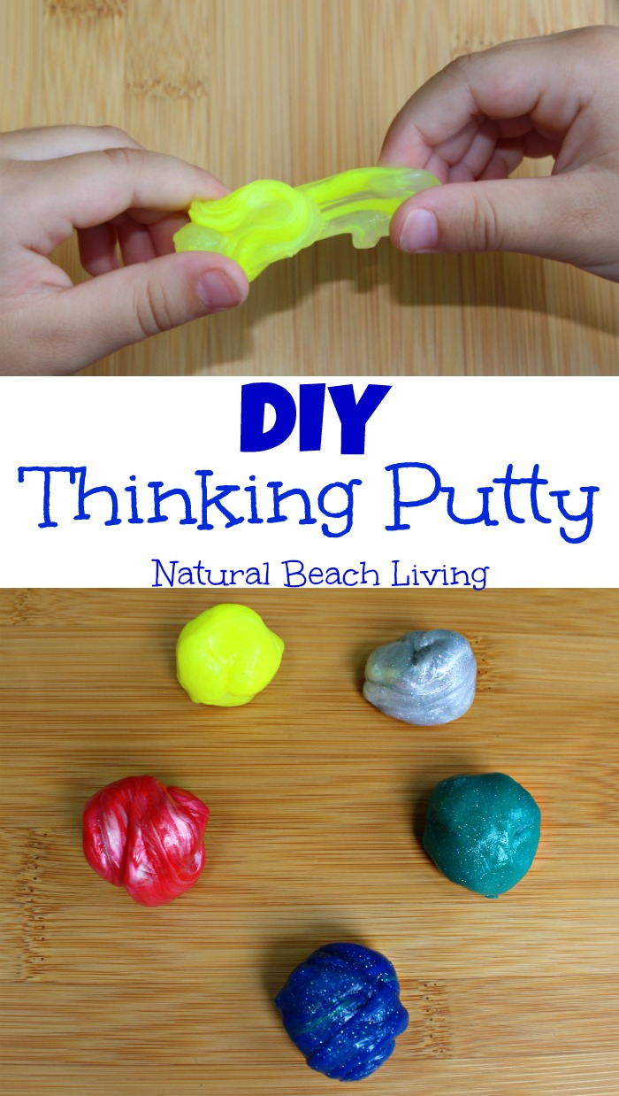 Super Cool Make Your Own Thinking Putty