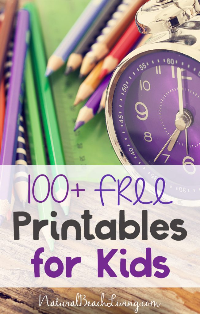 100+ Free Printables for Kids