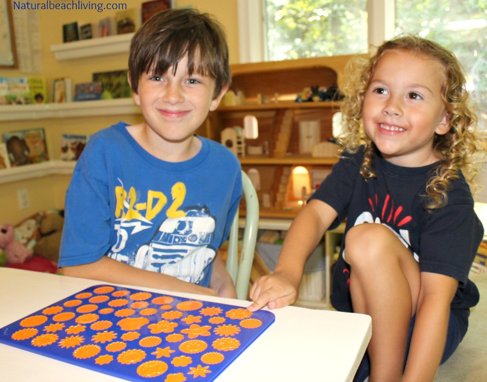 A Brain Game that is Fun for the Whole Family, Multi-sensory learning and fun perfect for family and homeschooling, fine motor skills, concentration, & more